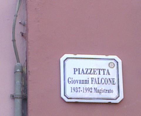 Piazzetta Giovanni Falcone