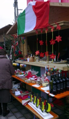 Stand italien de Corciano