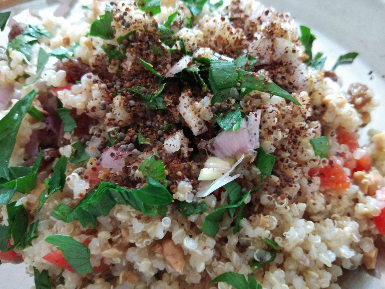 Recette N°118 - Quinoa aux noix de cajou - Crédit photo izart.fr